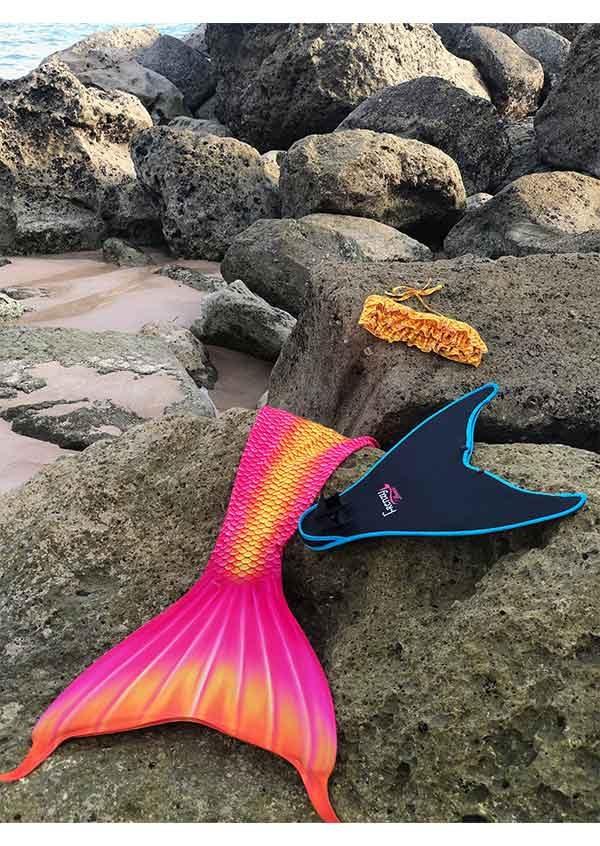 frenzy-mermaids-jellyfish-tail-swift-monofin-yellow-bikini